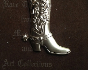 Boots with Spurs ( 1 pair)