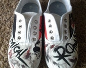 Custom My Chemical Romance Shoes