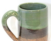 Ceramic Coffee Mug Coffee Mug Bandera Handmade Pottery Mug