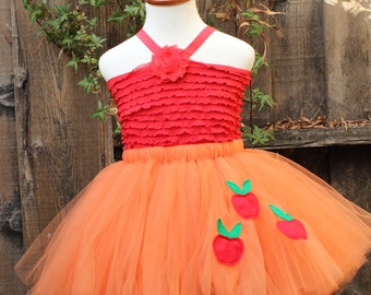 Applejack Skirt - My little pony - Applejack tutu skirt - Applejack costume - MLP costume - Equestria Girls Applejacack Skirt