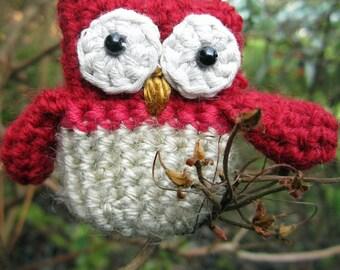 Silly Owl Brooch