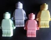 20 Giant Lego Mini Figure Soaps Baby Shower Birthday Halloween Christamas Treat