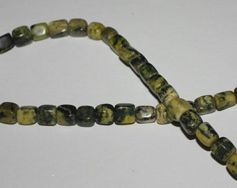 Yellow Turquoise semi precious stones