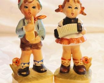 Hummel Like Figurines Birthday Serenade