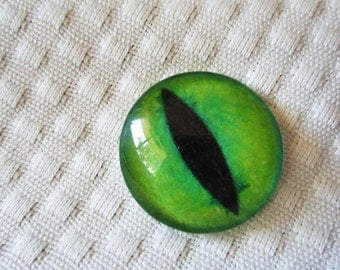 Cat glass eye for jewelry making and crafts