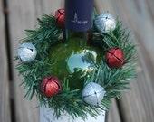 Jingle Bells Wine Bottle Decoration