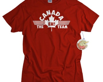 Canada Shirt for Men and Women Canada EH Team T shirt Canadian Tshirt for Him or Her