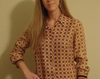Vintage Personal by Leslie Fay Women's Blouse