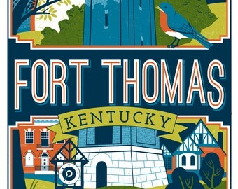 Fort Thomas, Kentucky poster