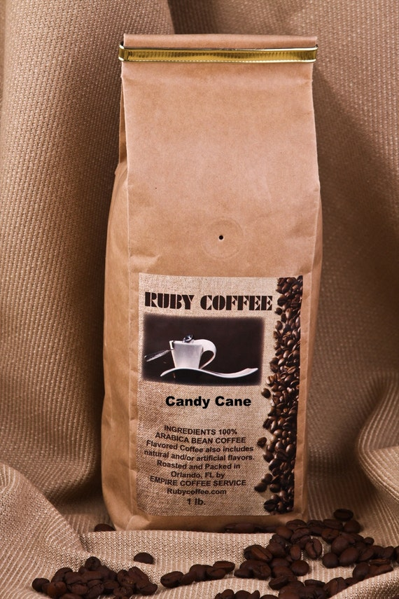 Candy Cane Flavored Coffee 1 lb.