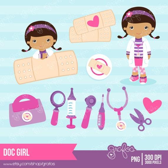 Doc Mcstuffins Lambie Clipart Doc girl - digital clipart doc