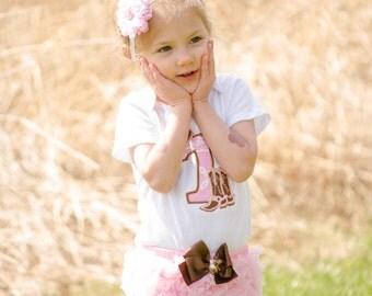 Girls Horse tutu-- Girls Cowgirl Birthday-- Cowgirl Birthday dress- Cowgirl Birthday tutu-- Horse birthday tutu-- Horse birthday