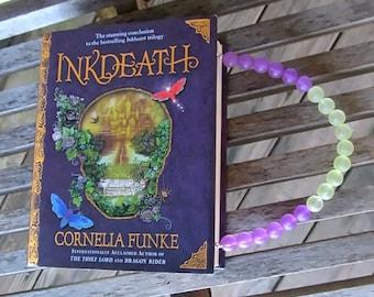 BOOK PURSE -  InkDeath by Cornelia Funke - InkHeart series - Custom Book Purse - Made to Order
