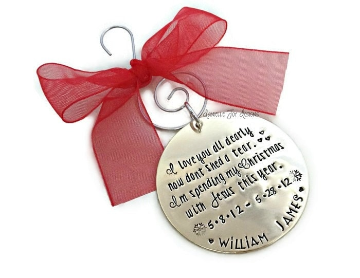 Christmas Ornaments For Lost Loved Ones Part - 31: Memorial Christmas Ornaments Photo Part - 44: ?zoom