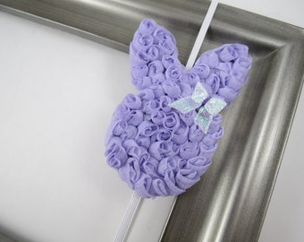 Lavender Easter Headband - Purple Easter Bunny Headband -  Easter Hair Clip - Bunny Hair Clip - Headband - Toddler Teenager Adult Headband