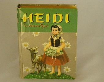 Heidi by Johanna Spyri - Illustrator Janet Smalley 1955 Edition