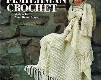 More Fisherman Crochet Pattern Book   Leisure arts Leaflet 106