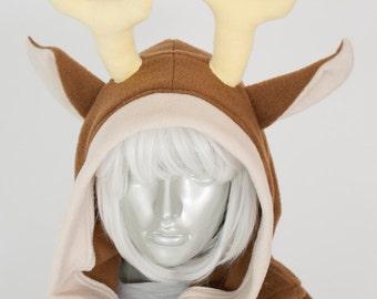 Deer Dress, Hoodie, Costume, Cosplay, Adult Size, Hand-made