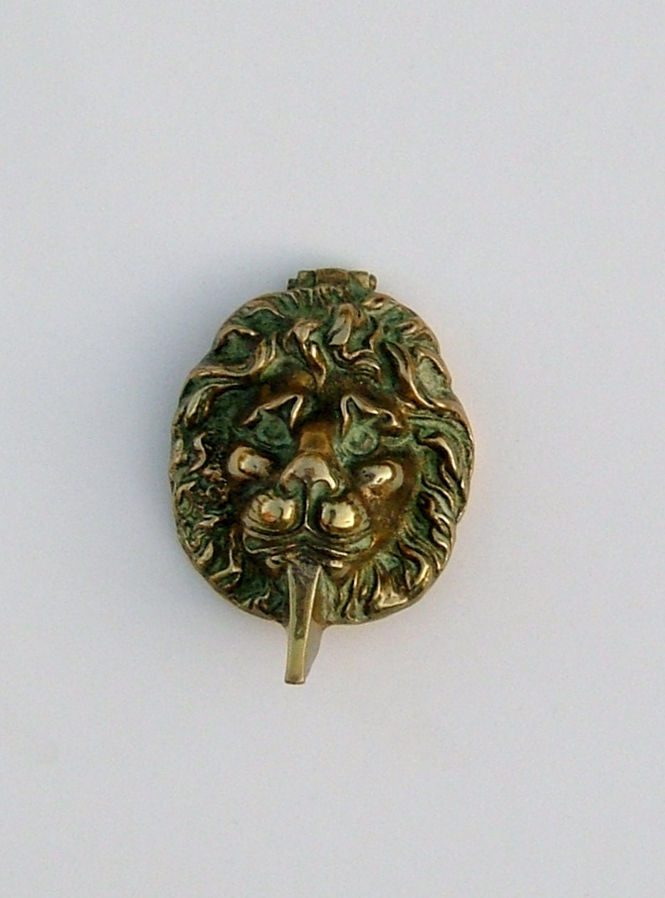 Dining serving - Brass lion head door knocker ...