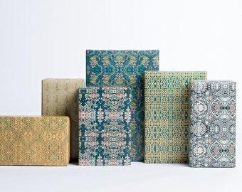 Textile Design Gift Wrap