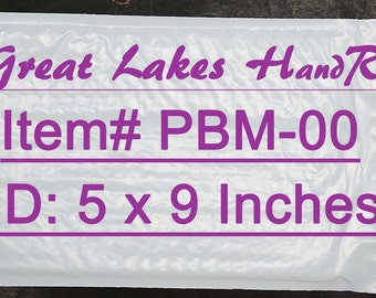 35 PBM-00 6 x 9 Inch Self-Sealing Poly Bubble Padded Envelope Mailers