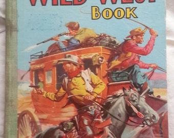 1950s Wild West Book, good condition