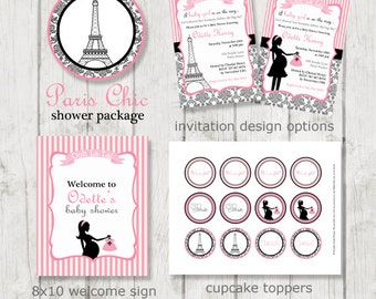 Paris Baby Shower | Etsy