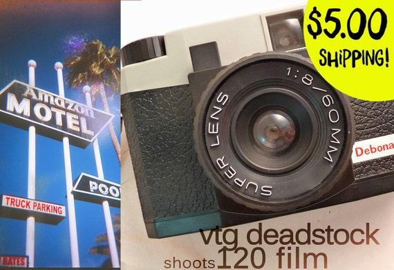 Vintage WORKING New Debonair Medium Format Film Camera w/Strap, Cap, Manual, Lomography, Toy Camera, Holga Clone, 120 Film, Christmas Gift