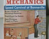 December 1964 Popular Mechanics - 1960s Advertisements - Home Decor - Skiing - Toys - Xmas - Mid Century Modern Design - Vintage Magazine