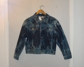 RESERVED for Rocio Tie dye jean jacket