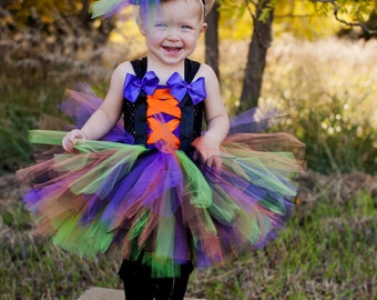 halloween witch tutu costume witch tutu kids tutu costume