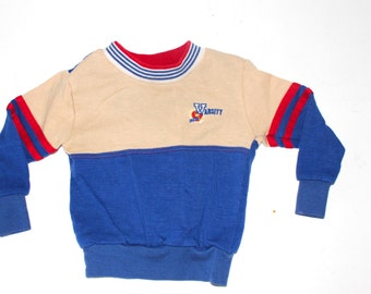 RETRO BOYS SWEATSHIRT - Varsity - Hipster Little Boy - Size 2T