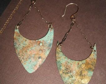 Minoan Bull Medium Earrings