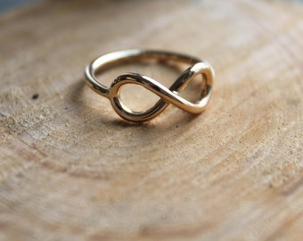 14kt. Yellow Gold Infinity Ring