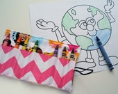 Crayon Roll Princess  -- Great Party Favors