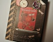 Interactive Scrapbook Mini Album - Stationer's Desk Vintage