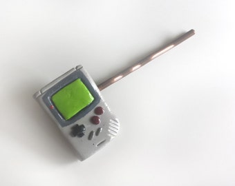 Classic Handheld Videogame System Bobby Pin
