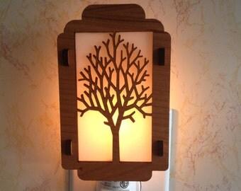 Leafless Tree Night Light