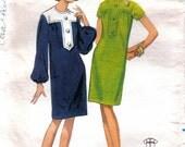 Misses 60's Sheath Dress Mad Men, Kawaii, Lolita Vintage Butterick 4259 Size 14 Bust 34