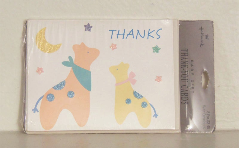 baby shower thank you cards baby gift thank you cards baby