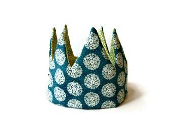 Daisies teal Kid Pretend & dress-up Crown