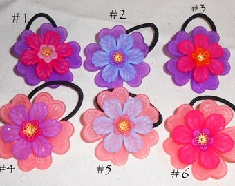 Kids Hair Flower Girl Hair Accessories, Ponytail Elastics, Wedding Hair Fashion, Hair Accessories, Ponytail Elastics
