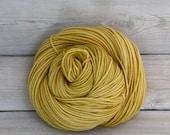 Calypso - Hand Dyed Superwash Merino Wool DK Light Worsted Yarn - Colorway: Honeycomb