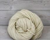 Apollo - Undyed Bulky Chunky Superwash Merino Wool Yarn  - Colorway: Natural
