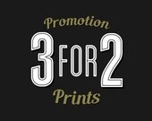 Typography Poster Promotion 3 for 2 on ANY of NeueGraphic Designs - Motivation Art, Typography Print, Coffee Art, Vintage Wall Decor