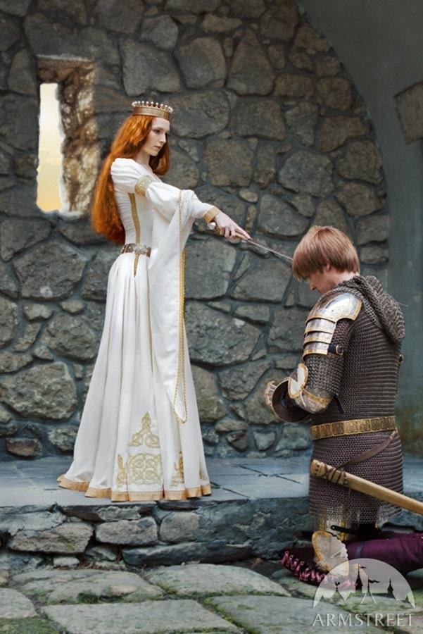 The Accolade Wedding Dress White Velvet Bridal Gown Ren