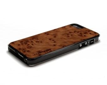 iPhone 5 Case Wood Redwood Burl, Wood iPhone SE Case, iPhone 5S Case Wood