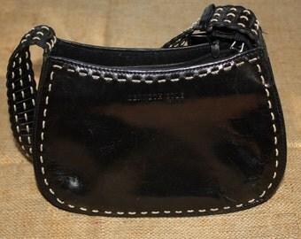 Vintage Kenneth Cole / New York Leather Bag