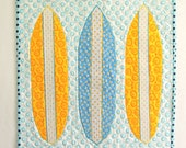 Surfboard II: Quilted Wall Art
