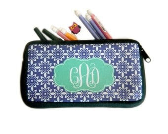 Personalized Pencil Pouch | Custom Student Gift | Back to School Supply